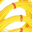 Yellow fiber optic cables — Stock Photo #61243127
