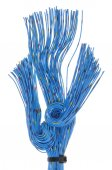 Network cables, transmission of data in telecommunications — Stock Photo
