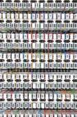 Übersichts-Panel für Telekommunikationssysteme — Stockfoto