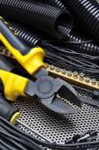 Cutters with electrical component kit — Stock Photo