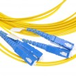 Fiber optical patch cord plug — Stock Photo #64892385