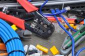 Tools for crimping with component — Foto de Stock