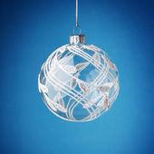 Bright christmas ball — ストック写真