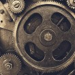 Gears from of mechanism — Stock Photo #63374779