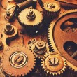 Gears of old mechanism — Stock Photo #63374949