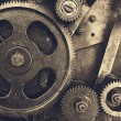 Gears from of mechanism — Stock Photo #63375059