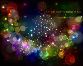 Merry Christmas and Happy New Year Background. — Stock Vector
