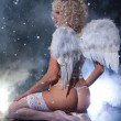 Blondie Angel — Stock Photo #74374605