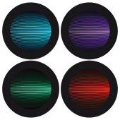 Signal button — Stock Vector
