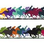 Horse Racing — Stock Vector #52615135