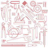 Tool pattern — Stock Vector