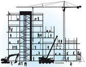 New construction — Stock Vector