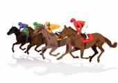 Racecourse — Stock Vector
