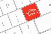 Onderwijs pictogram — Stockfoto