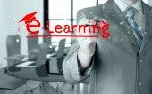 Koncept e learningu — Stock fotografie