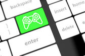 Icon game pad — Stock Photo