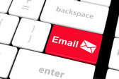 E-mail key — Stock Photo