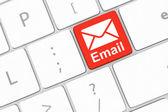 ключ электронной почты — Стоковое фото