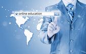 Online eğitim — Stok fotoğraf