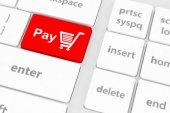 Pay key — Stock Photo