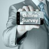 Online průzkum — Stock fotografie