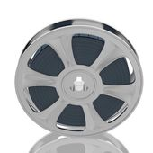 Old motion picture film reel — Stock Photo