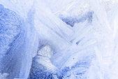 Padrão de gelo — Fotografia Stock