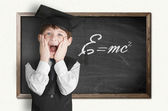 Smart Young Boy — Stock Photo