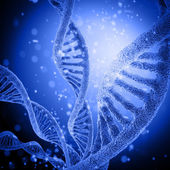 Illustration of DNA structure — Stock Photo
