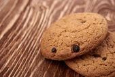 Tasty oat cookies — Stock Photo
