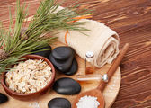 Composition of spa treatment — Foto Stock