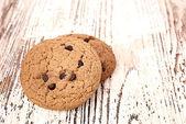 Вкусное овсяное печенье — Стоковое фото