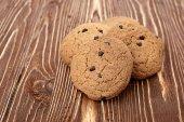 Tasty oat cookies — ストック写真