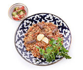 Oriental shah pilaf — Stock Photo
