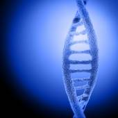 Colorful DNA structure — Stock Photo