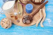 Samenstelling van spa-behandeling — Stockfoto