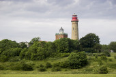 Cape Arkona Lighthouse in Rugen island — Stock Photo