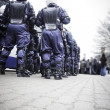 Riot police unit — Stock Photo #78289770