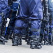 Riot police unit — Stock Photo #78289796