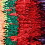 Wool color rainbow texture — Stock Photo #55308033