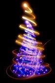 Xmas tree — Stock Photo
