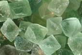 Green fluorite mineral background — Stock Photo
