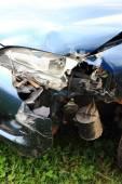 Car crash detail  — Stock Photo