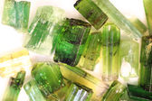 Green gem mineral as nice natural background — Stock Photo