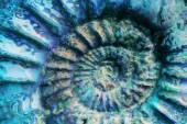 Soyut mavi sarmal — Stok fotoğraf