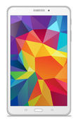 Samsung Galaxy Tab 4 7.0 LTE white — Vetorial Stock