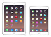 IPad Air 2 and iPad mini 3 — Vecteur