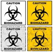 Biogefährdung — Stockvektor