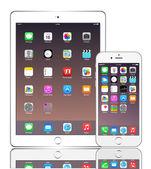 IPhone 6 plus and ipad air 2 — Wektor stockowy