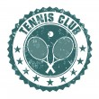 Tennis club stamp — Stock Vector #69757481